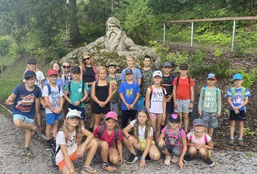 letní tábor ŠD v Janských Lázních