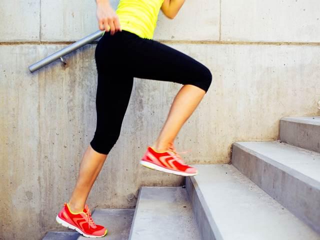 Běh po schodech