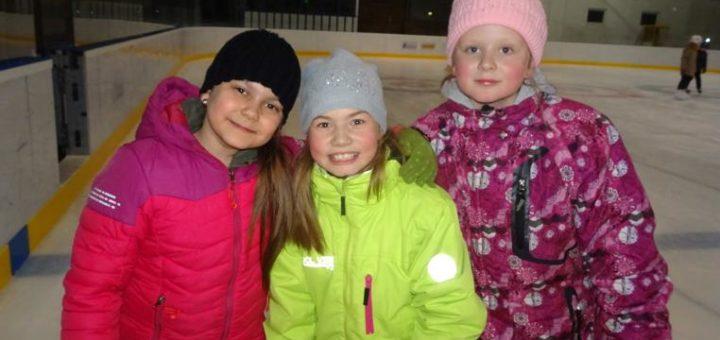 bruslení na zimním stadionu v Trutnově