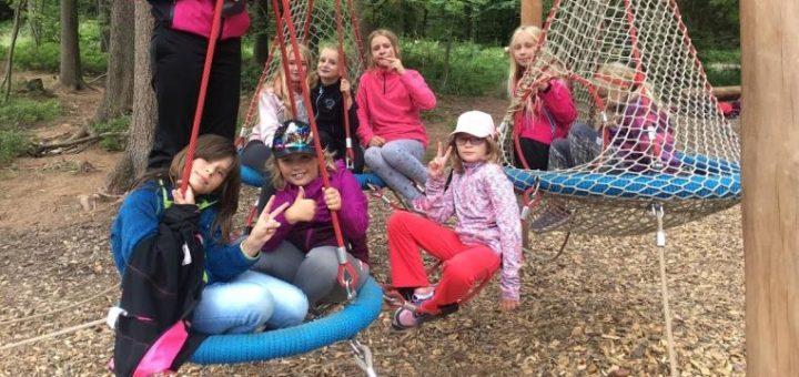 letní tábor školní družiny